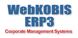 WebKOBIS ERP3 Management Systems